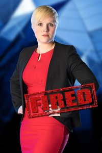 Natalie was fired because of poor pitching and negotiation. Courtesy of BBC