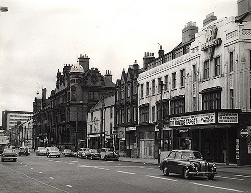 015507:Percy Street Newcastle upon Tyne 1966