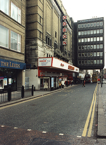 061132:Odeon cinema Pilgrim Street Newcastle upon Tyne Malcolm Maybury 1995